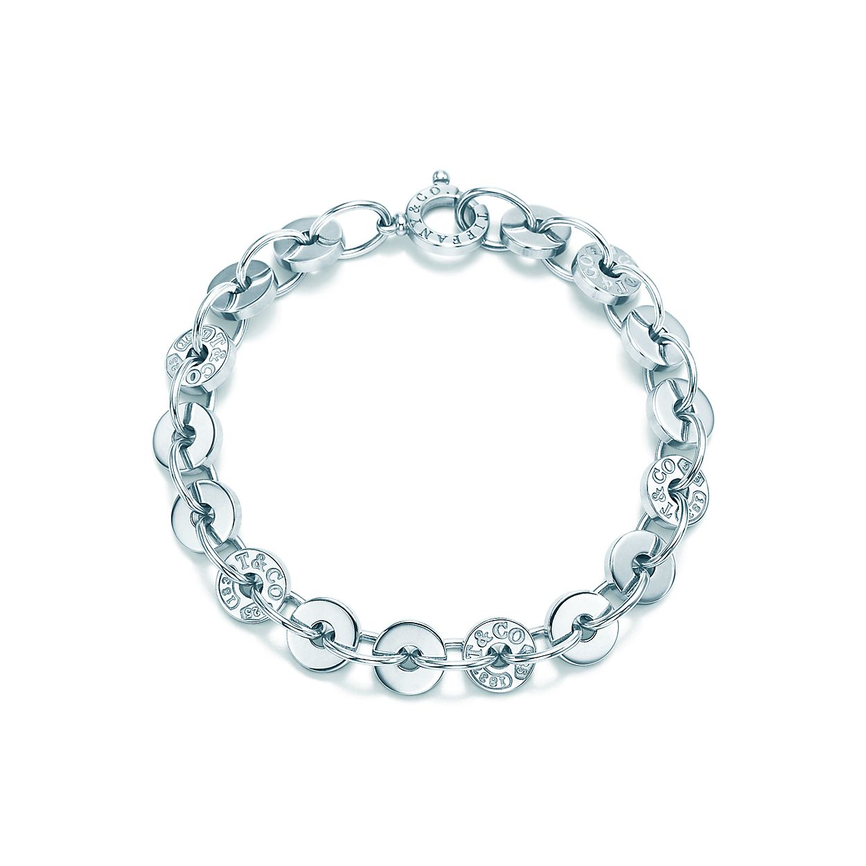 1608f9db0 Tiffany 1837™ circle bracelet in sterling silver, medium. | Tiffany ...