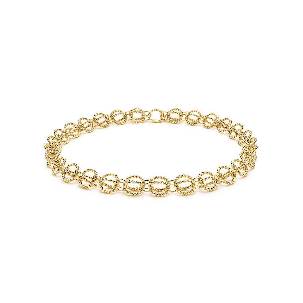 5f6621d29873 Tiffany   Co. Schlumberger® Circle Rope necklace in 18k gold ...