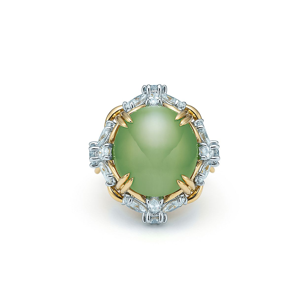9e3c7a62c632 Tiffany   Co. Schlumberger® floral ring with a 15.58-carat ...