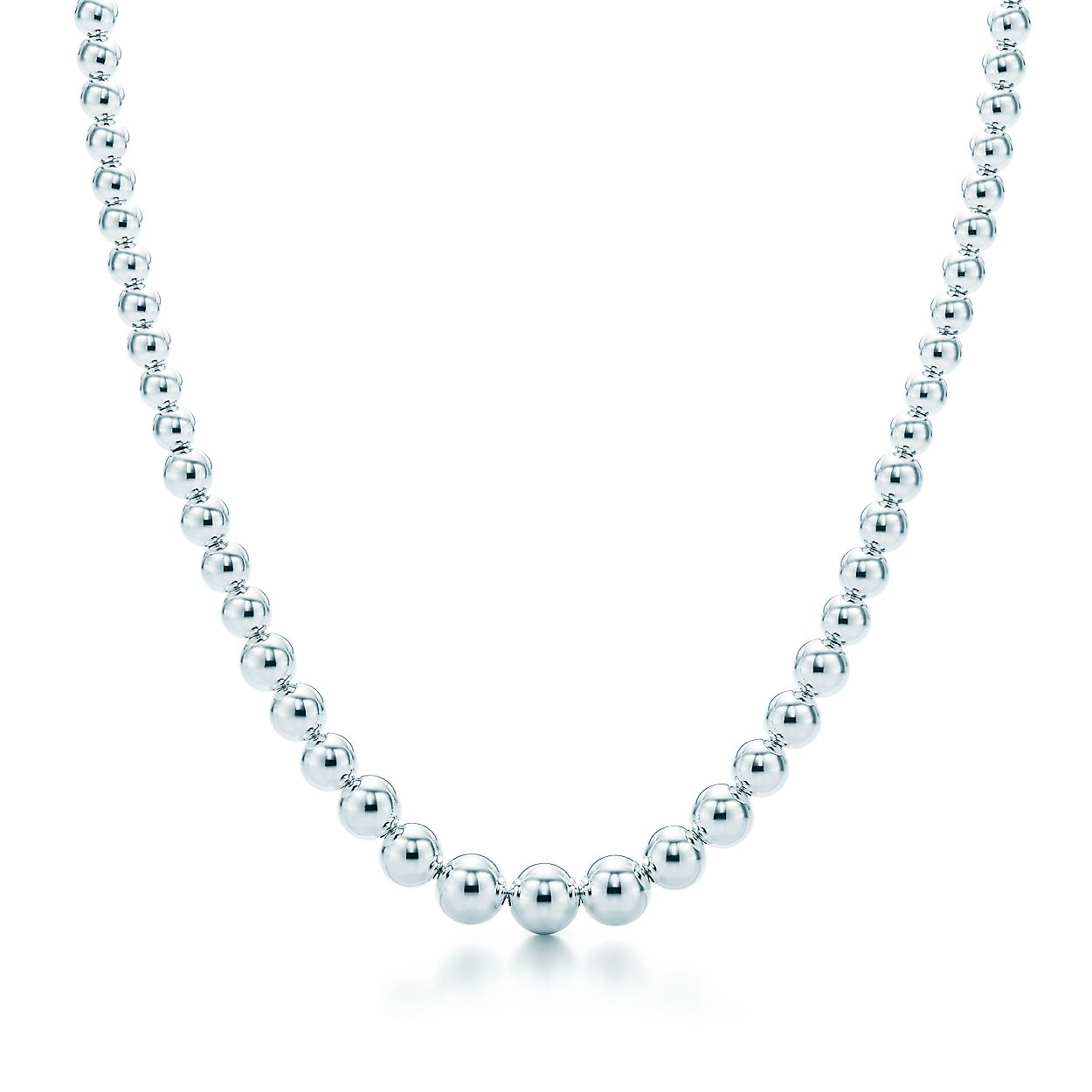 e4c2318fe Tiffany HardWear graduated ball necklace in sterling silver ...