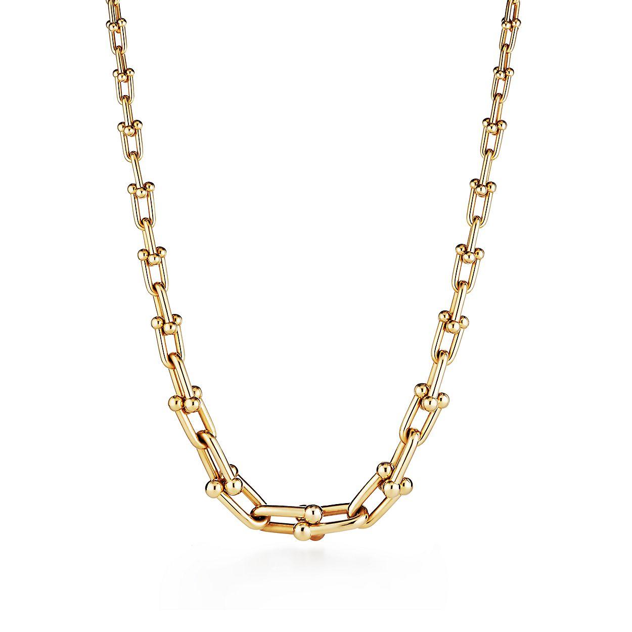 f366ab374 Tiffany HardWear 18k Gold Link Necklace | Tiffany & Co.