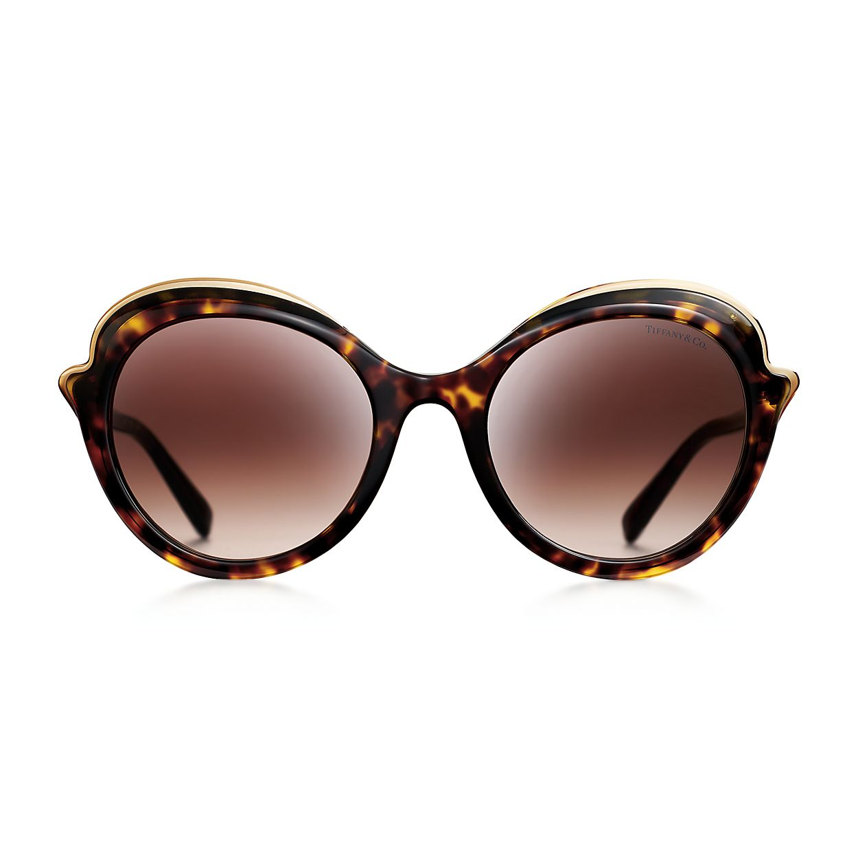 ded6984ebbb1 Tiffany Paper Flowers cat eye sunglasses in tortoise acetate ...
