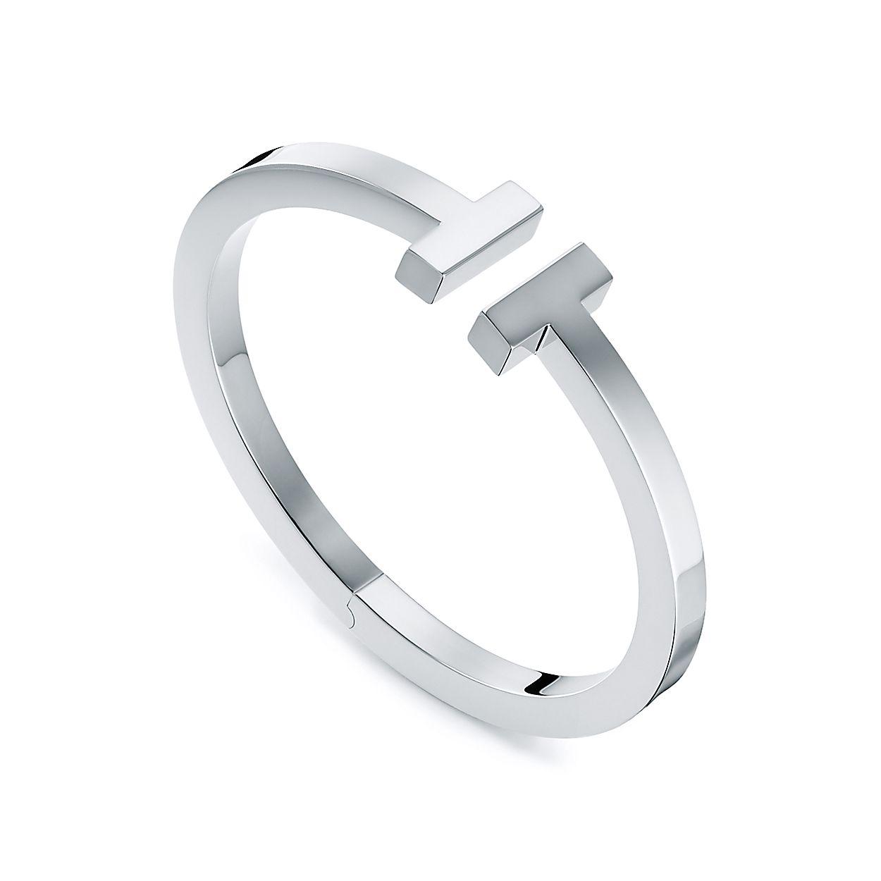 8285f6a14 Tiffany T square bracelet in sterling silver, medium. | Tiffany & Co.