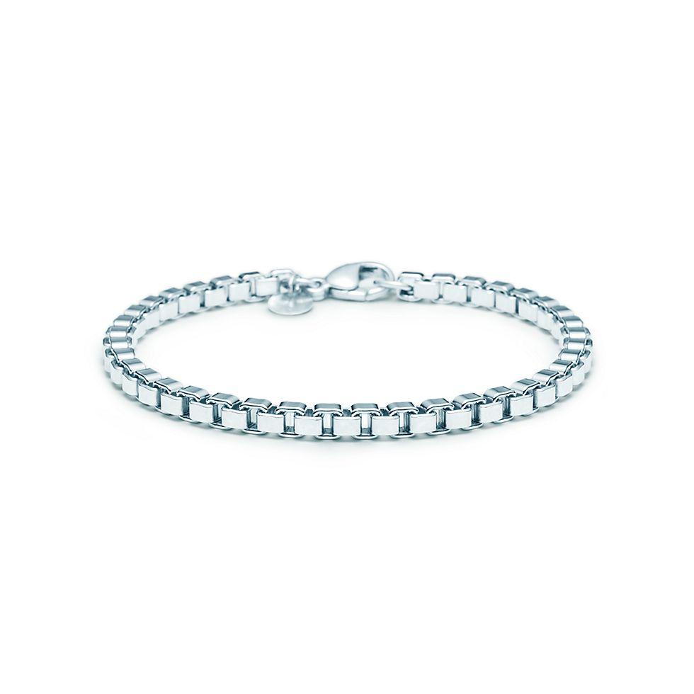 67ae49db9 Venetian Link bracelet in sterling silver. | Tiffany & Co.