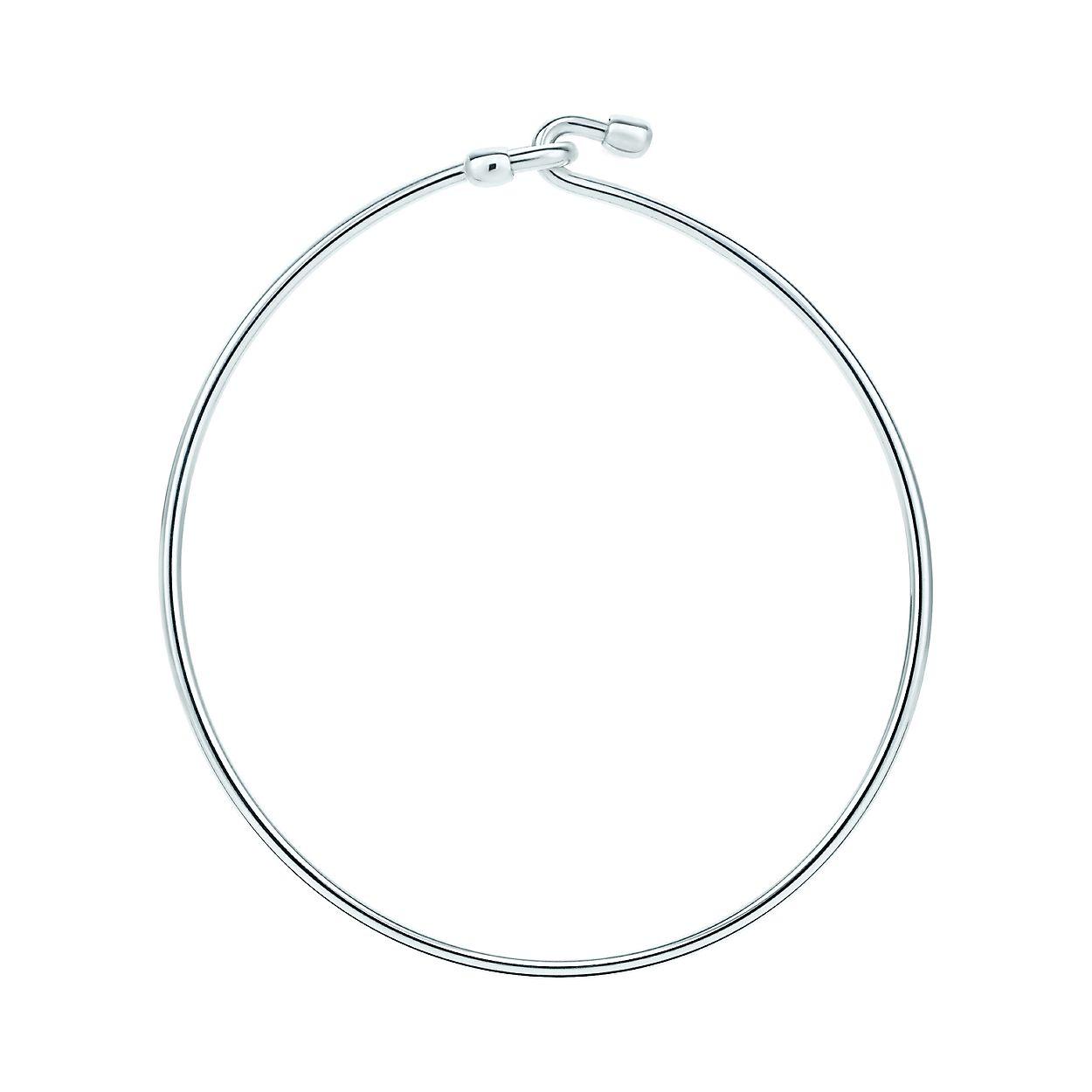 00398c95d Wire bracelet in sterling silver, medium. | Tiffany & Co.
