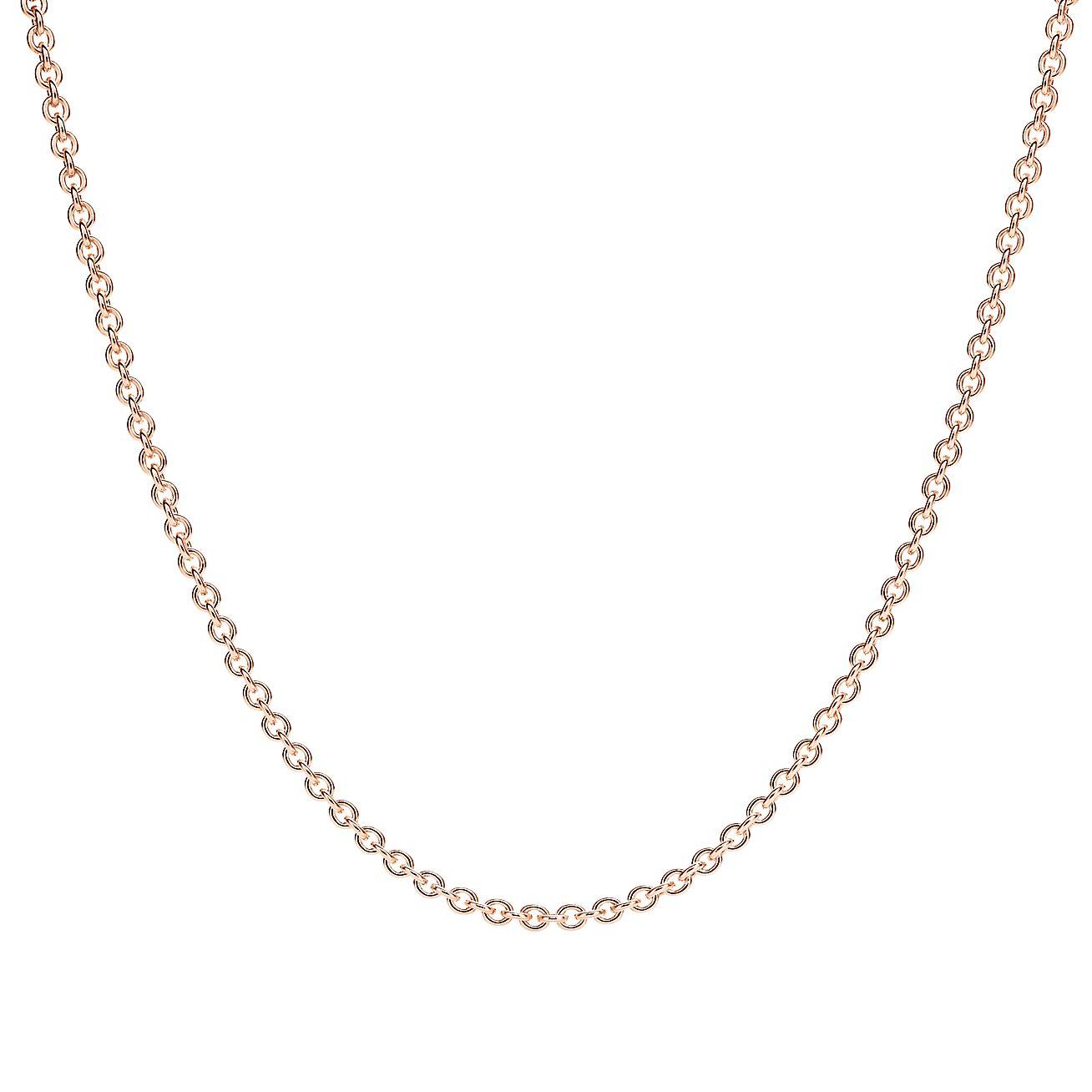 Chain in 18k rose gold 370e31de1