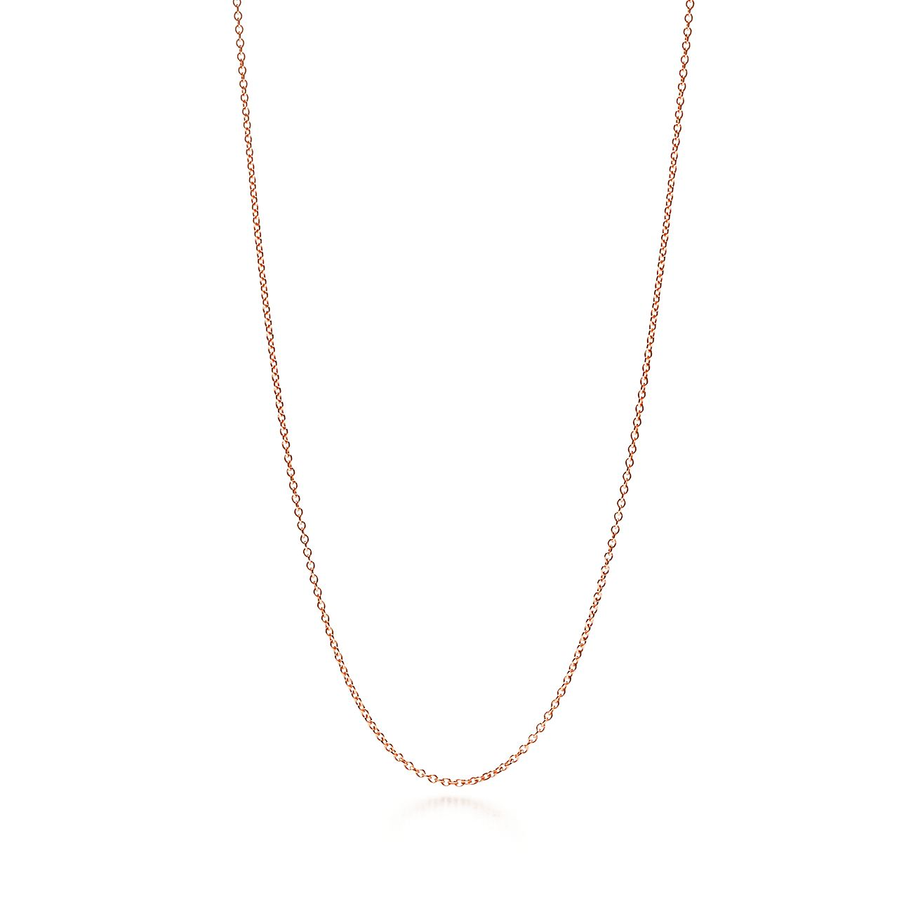 Rose Gold Necklace Chain Tiffany Co