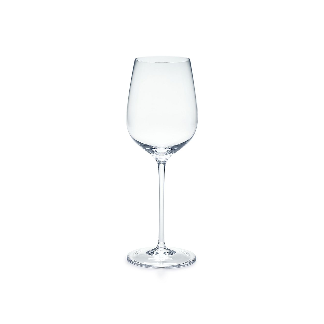 All Purpose White Wine Glass In Handmade Mouth Blown Crystal Tiffany Co