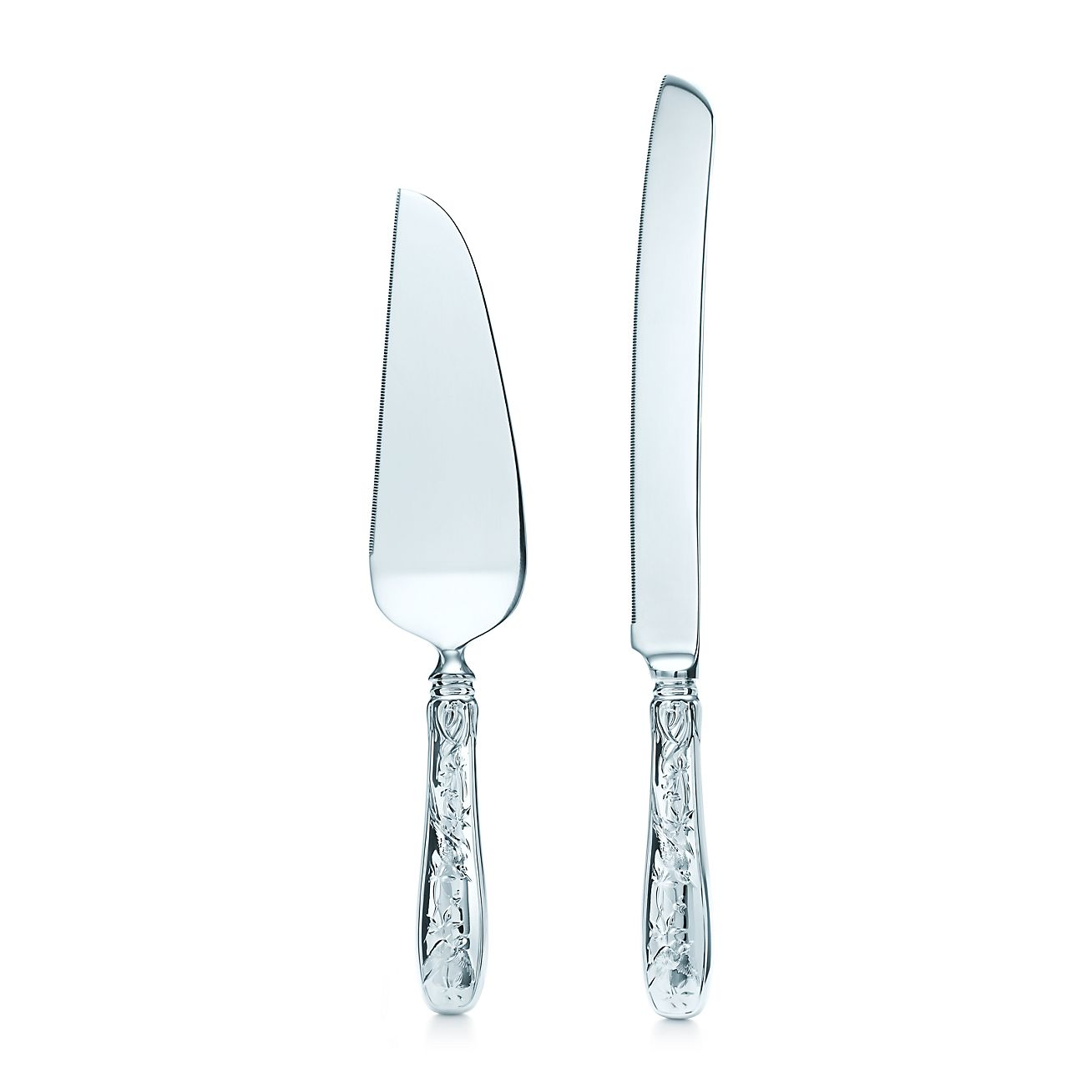 tiffany and co wedding cake server audubon cake knife and server in sterling silver 20990