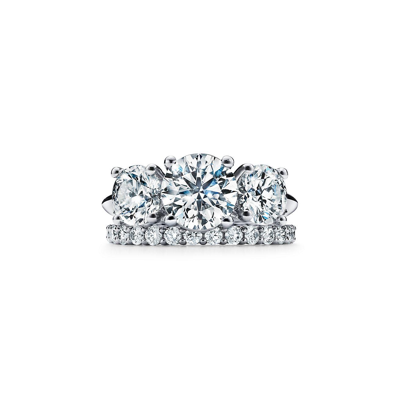 bague diamant noir tiffany