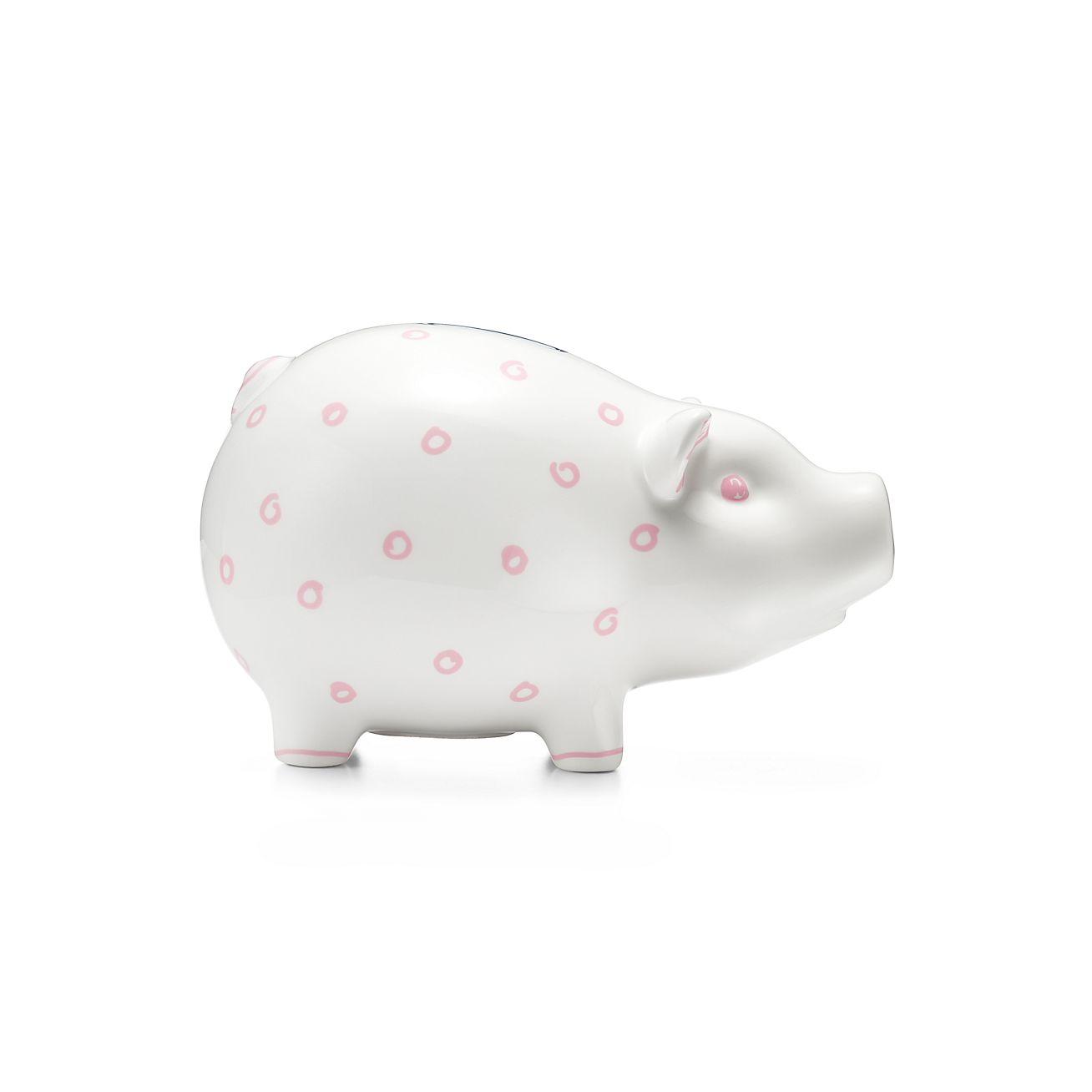 Coin Box Made in Italy Children STERLING SILVER Money Bank Saving Box PINK