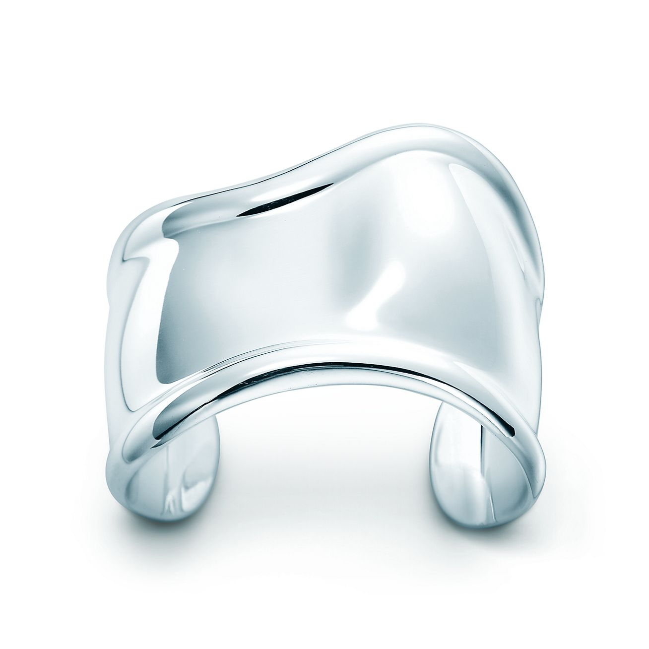 Elsa Peretti Bone cuff in sterling silver, medium, right wrist - Size Medium Tiffany & Co.