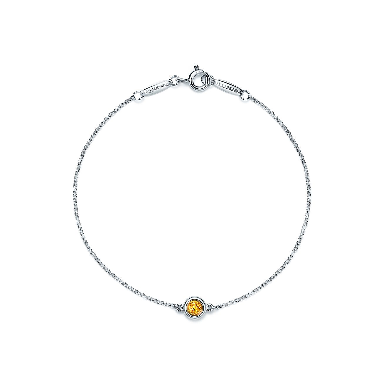 Elsa Peretti Color by the Yard bracelet in sterling silver with a citrine, medi Tiffany & Co.