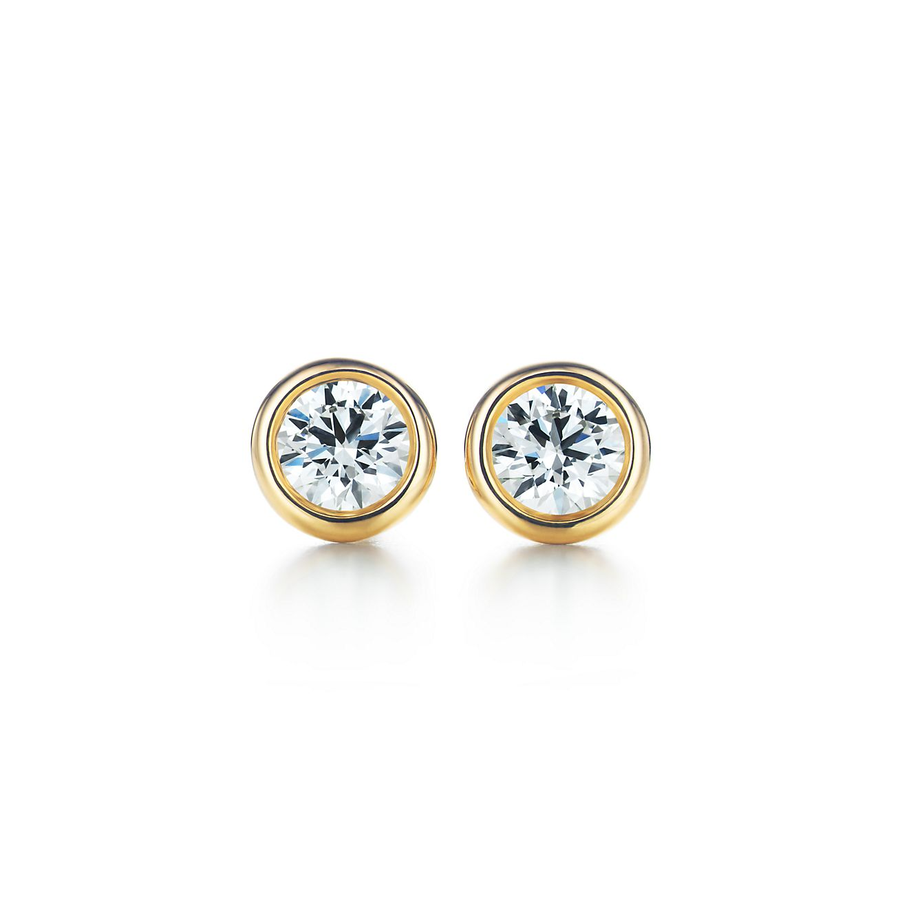 Elsa Peretti Diamonds by the Yard earrings in 18k gold - Size.28 Tiffany & Co. gkNCps