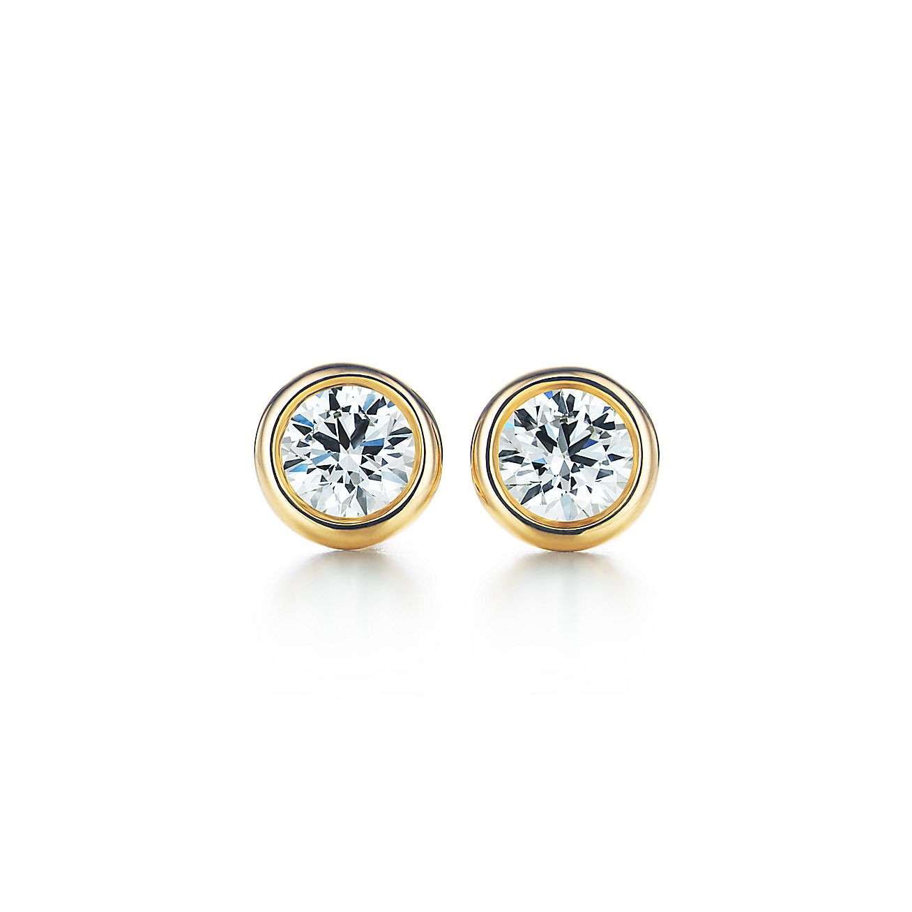 Elsa Peretti Diamonds By The Yard Earrings In 18k Gold Tiffany Co