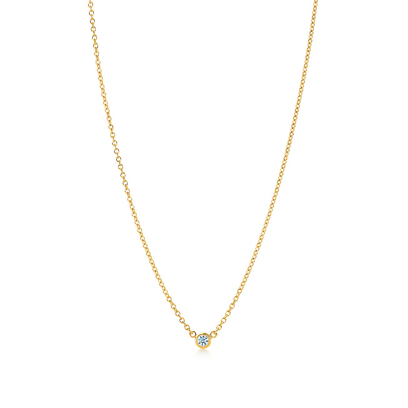 Elsa peretti diamonds by the yard pendant in 18k gold with carat elsa peretti diamonds by the yard pendant in 18k gold with carat weight 05 tiffany co aloadofball Gallery