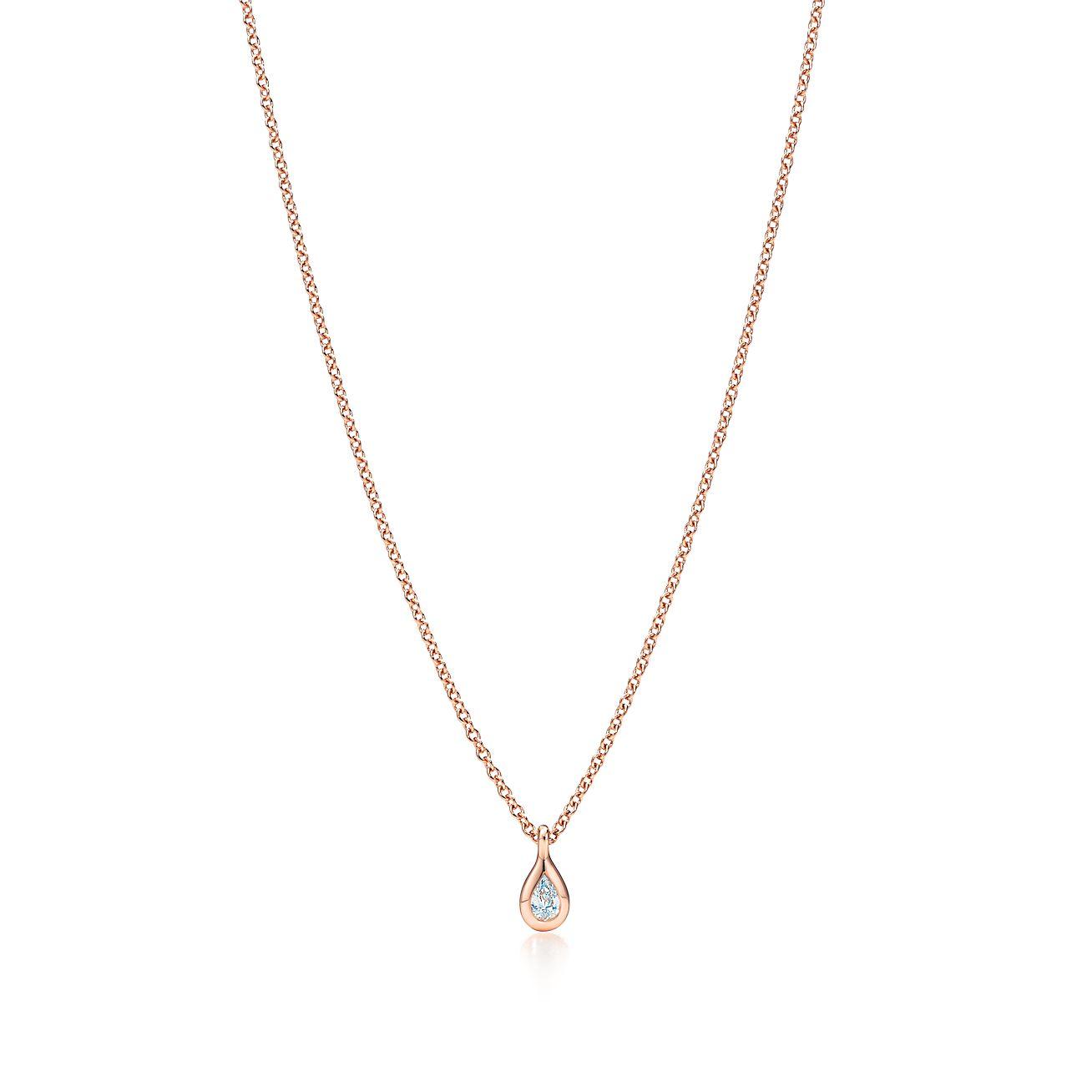 Elsa Peretti Diamantes Por El Colgante Yardas En 18 Quilate - Size.07 Tiffany & Co. msgJ0