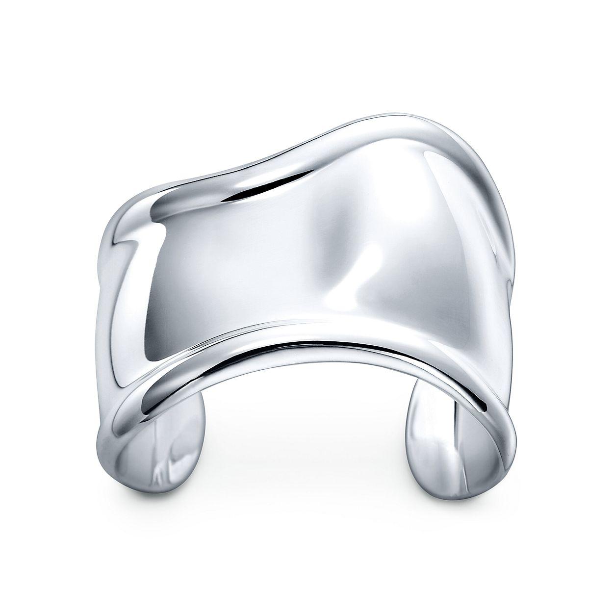 Elsa Peretti Bone Cuff In Sterling Silver Small Right Wrist Tiffany Co