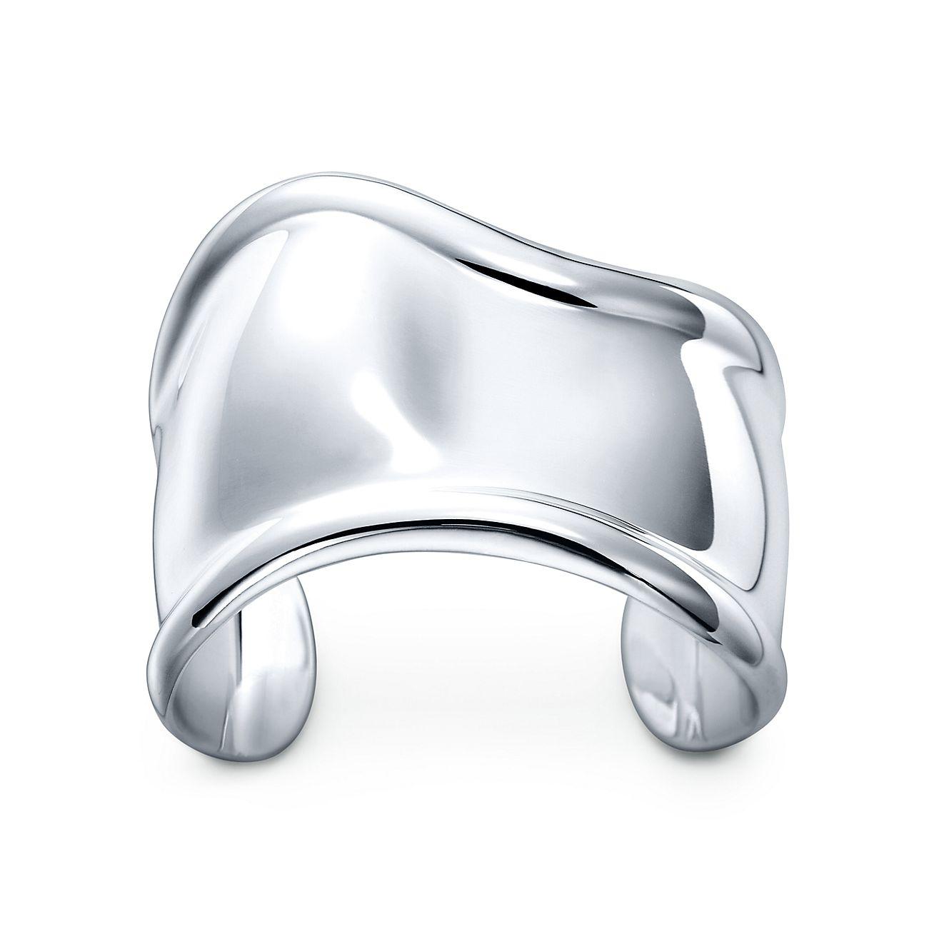 Elsa Peretti Bone Cuff In Sterling Silver For The Left Wrist Tiffany Co