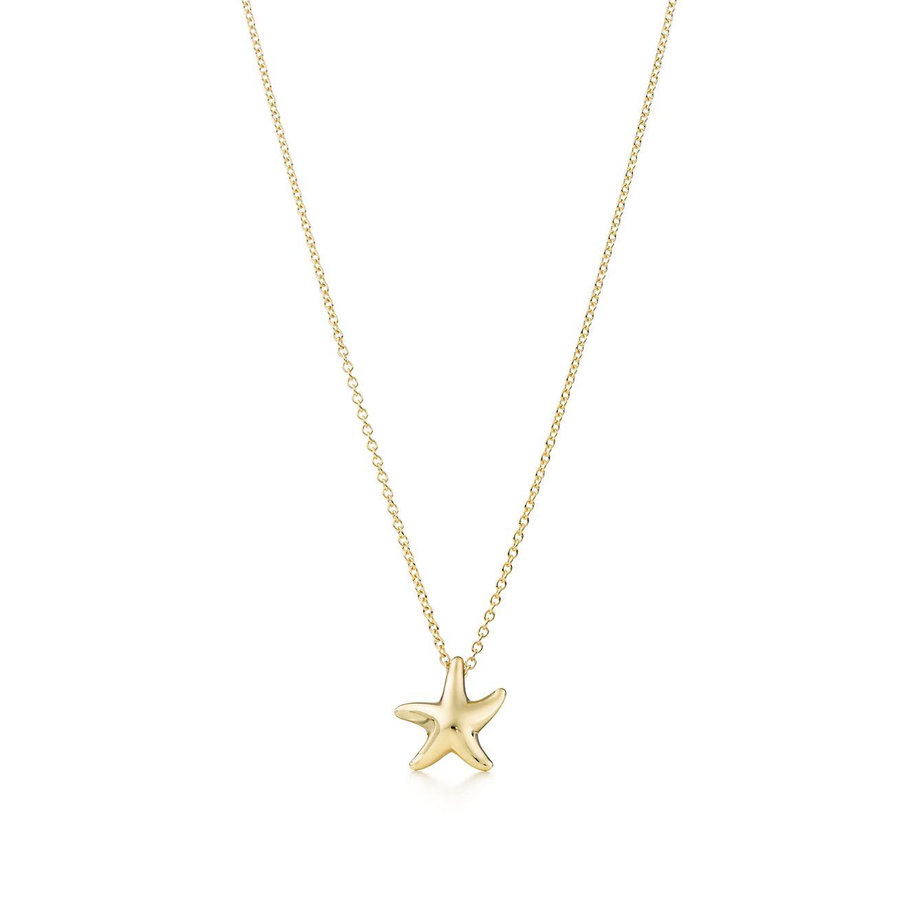 Elsa peretti starfish pendant in 18k gold 12mm tiffany co elsa perettistarfish pendant aloadofball Choice Image