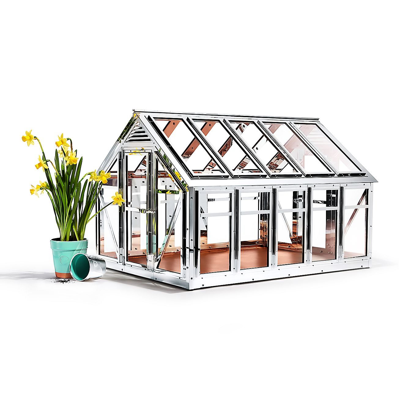 Sterling Silver Greenhouse