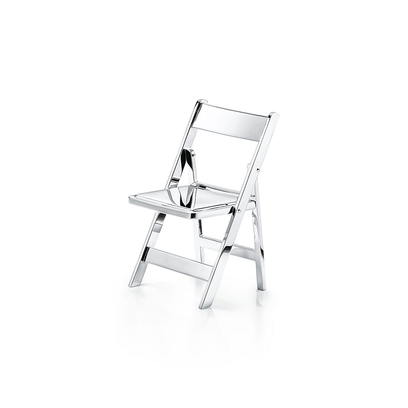 Everyday Objects Sterling Silver Mini Folding Chair. | Tiffany U0026 Co.