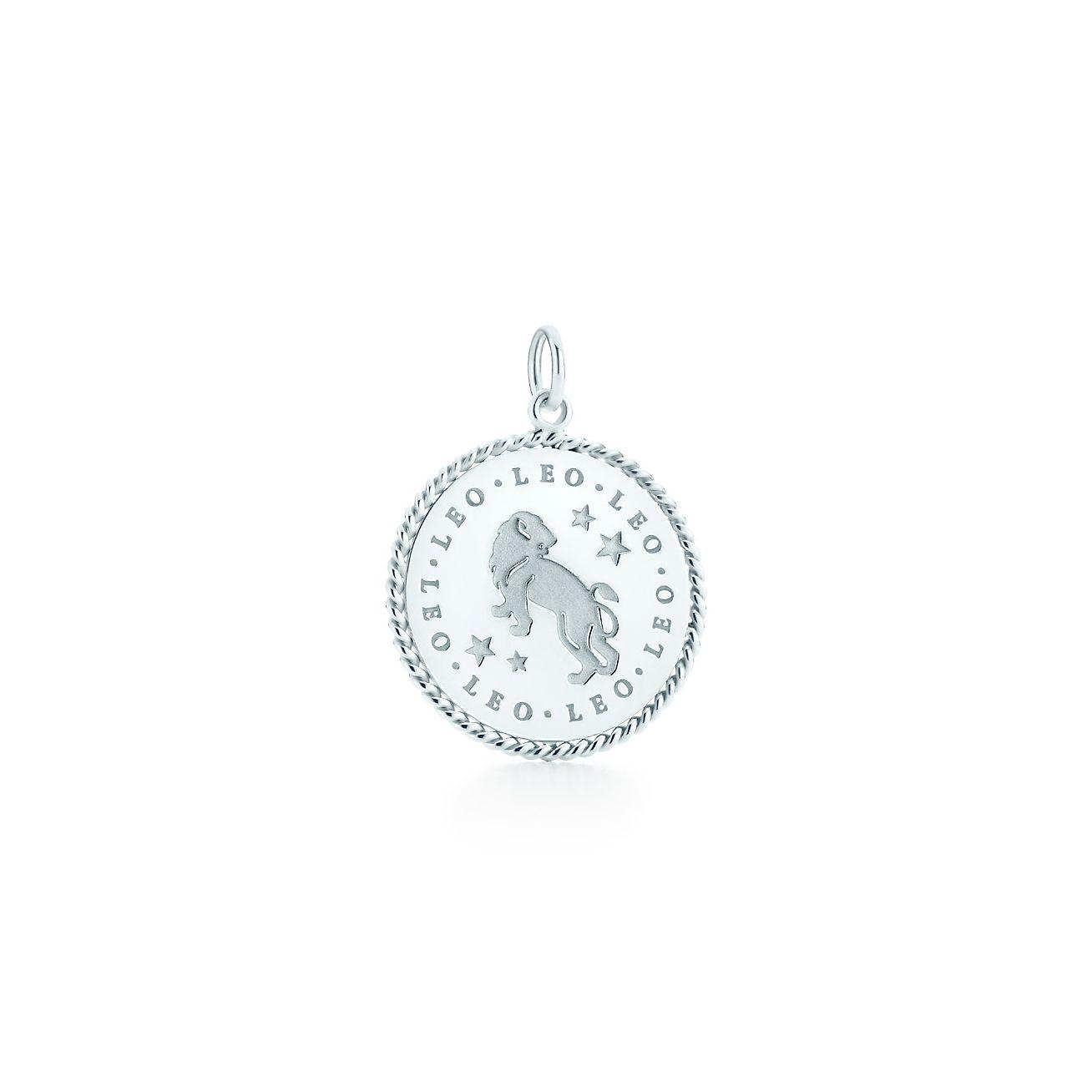 Leo zodiac charm in sterling silver - Size Leo Tiffany & Co. j6mbc0xZ