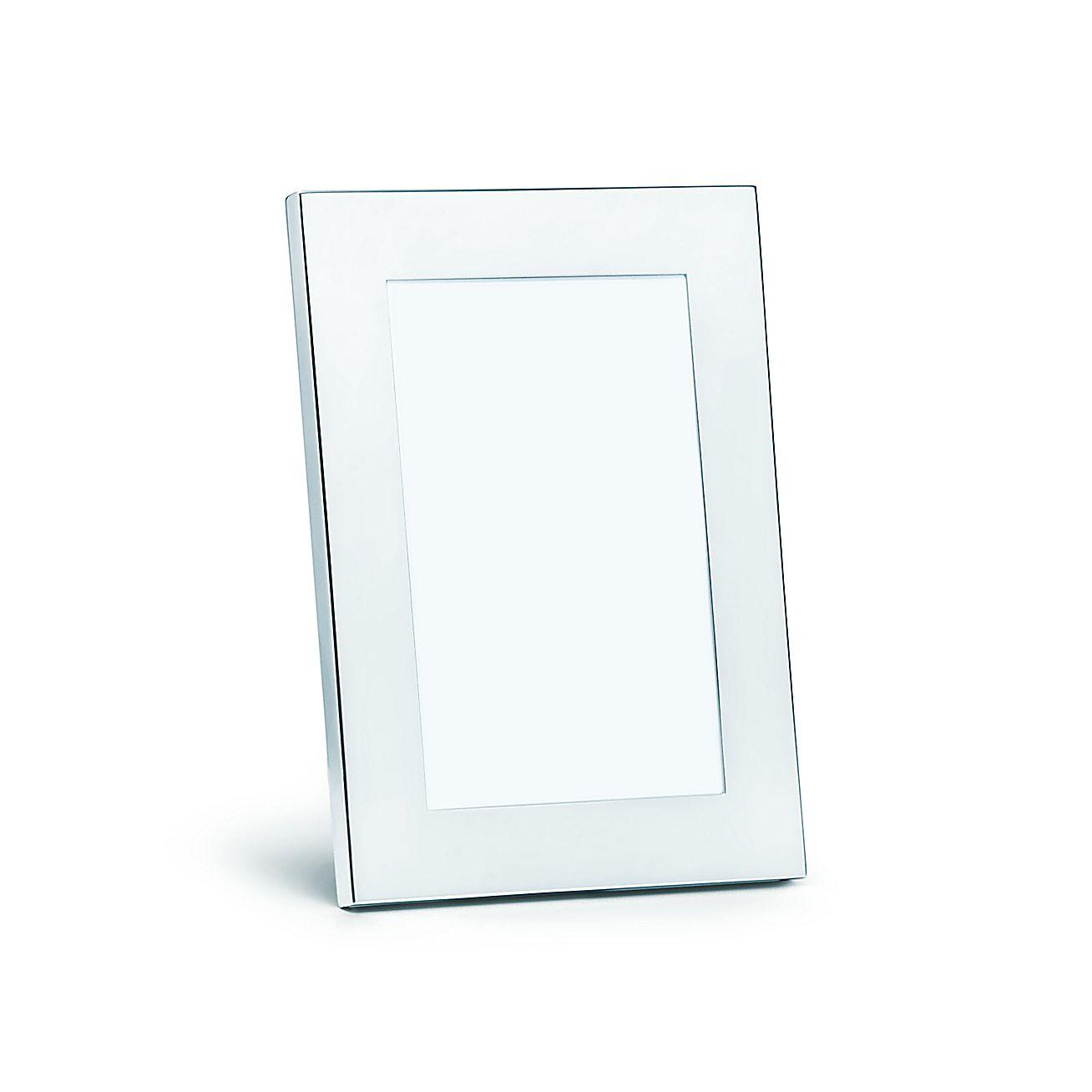 Marco rectangular en plata esterlina. | Tiffany & Co.