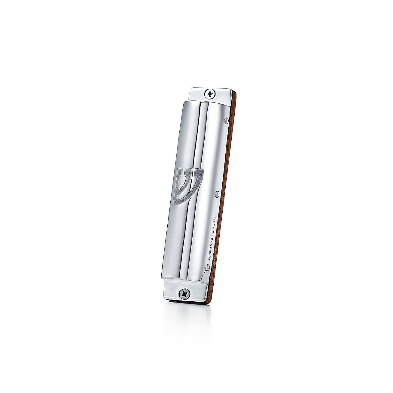 Mezuzah In American Walnut And Sterling Silver Tiffany Co