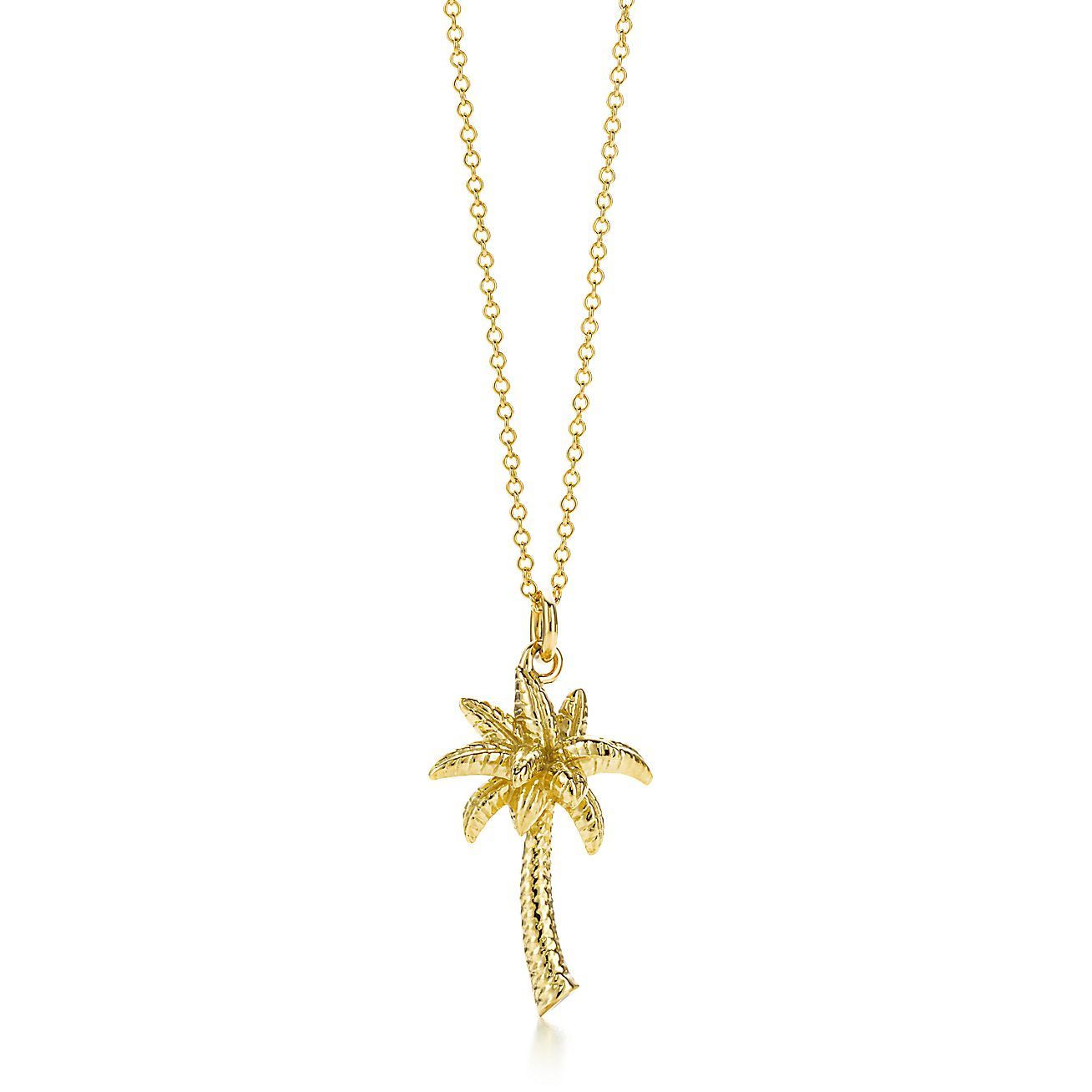palmtree jewelry palm tree pendant in 18k gold co 5151