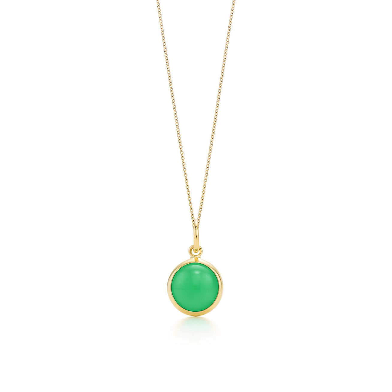 chrysoprase necklace yamaya products white pendant liv gold ivy chryso