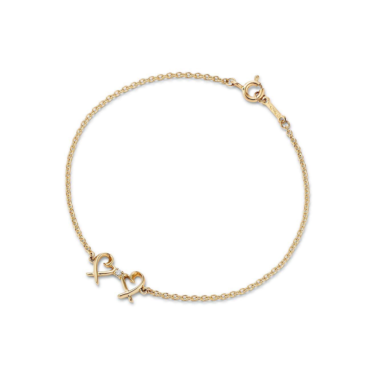 Paloma Pico Double Loving Heart Bracelet