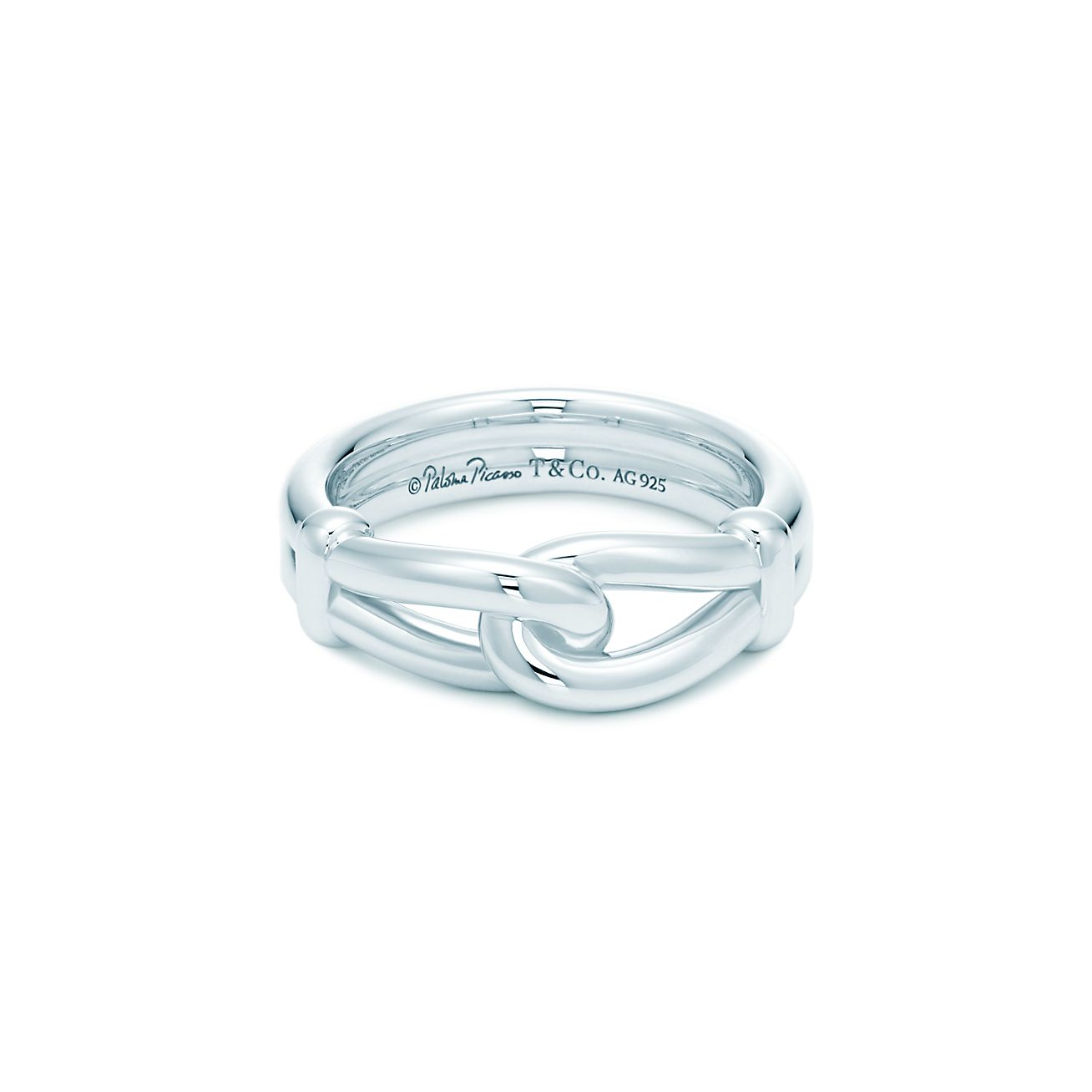 Paloma Picasso Knot Ring In Sterling Silver Tiffany Co