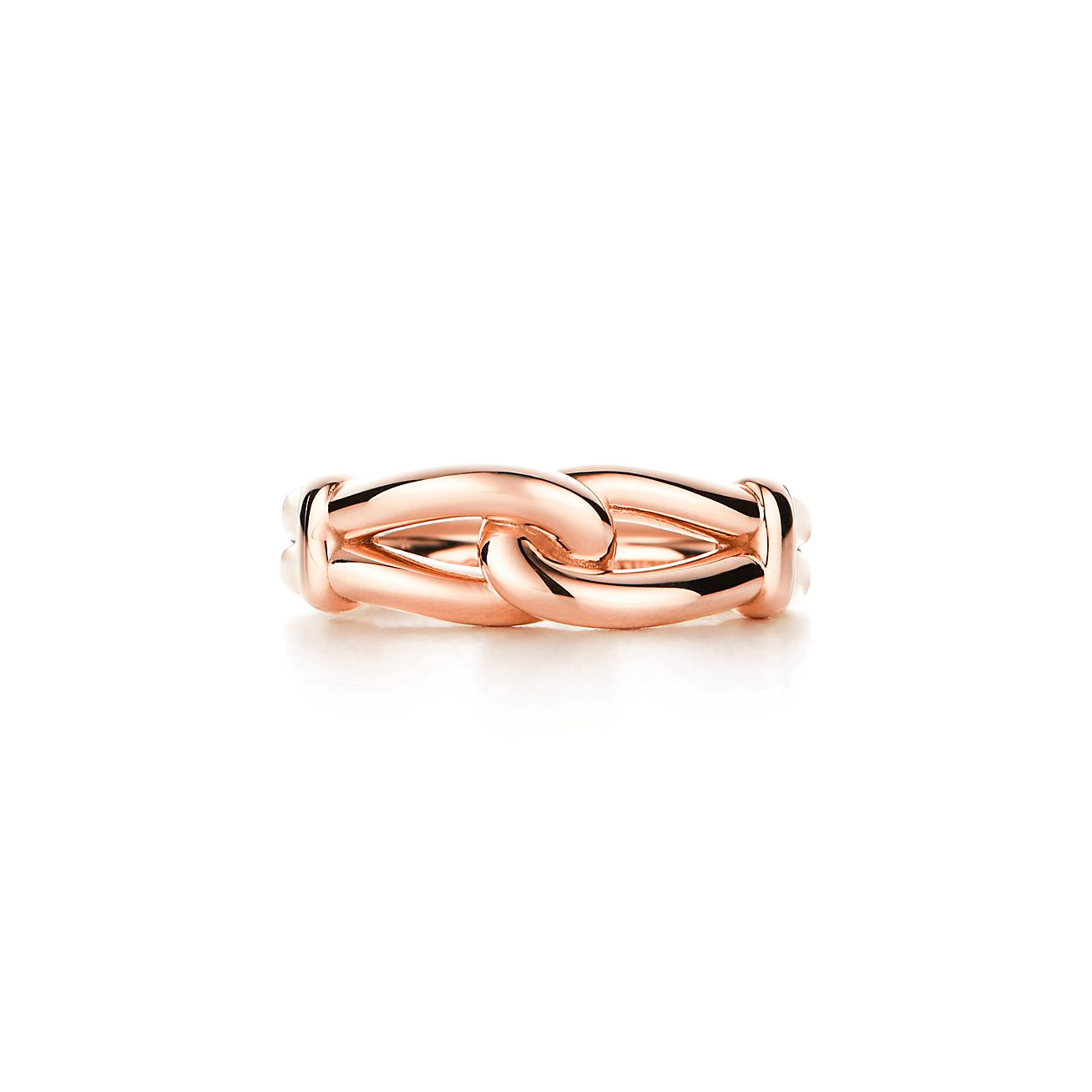 Paloma Picasso Knot Ring In 18k Rose Gold Tiffany Co