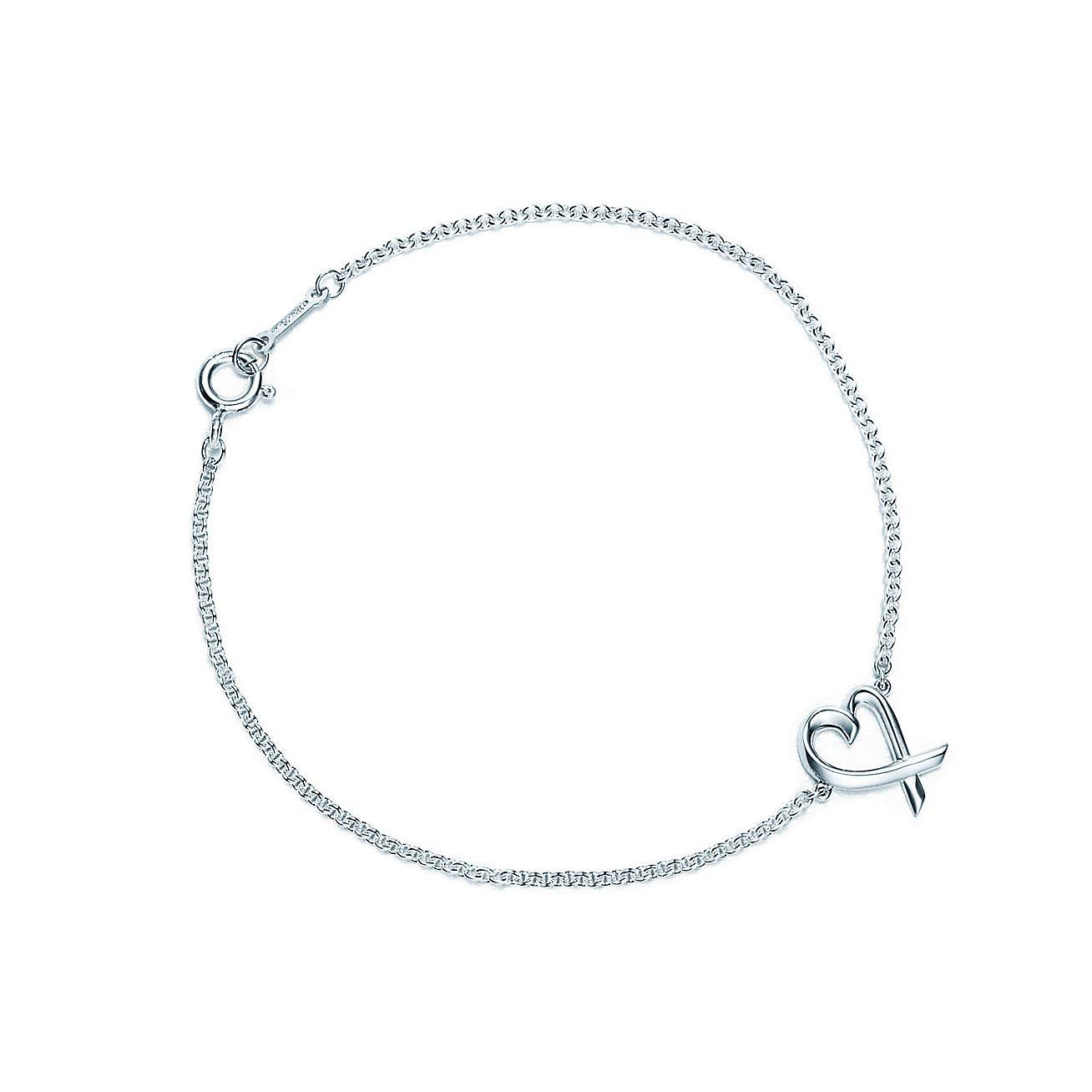 Paloma Pico Loving Heart Bracelet In Sterling Silver Medium Tiffany Co