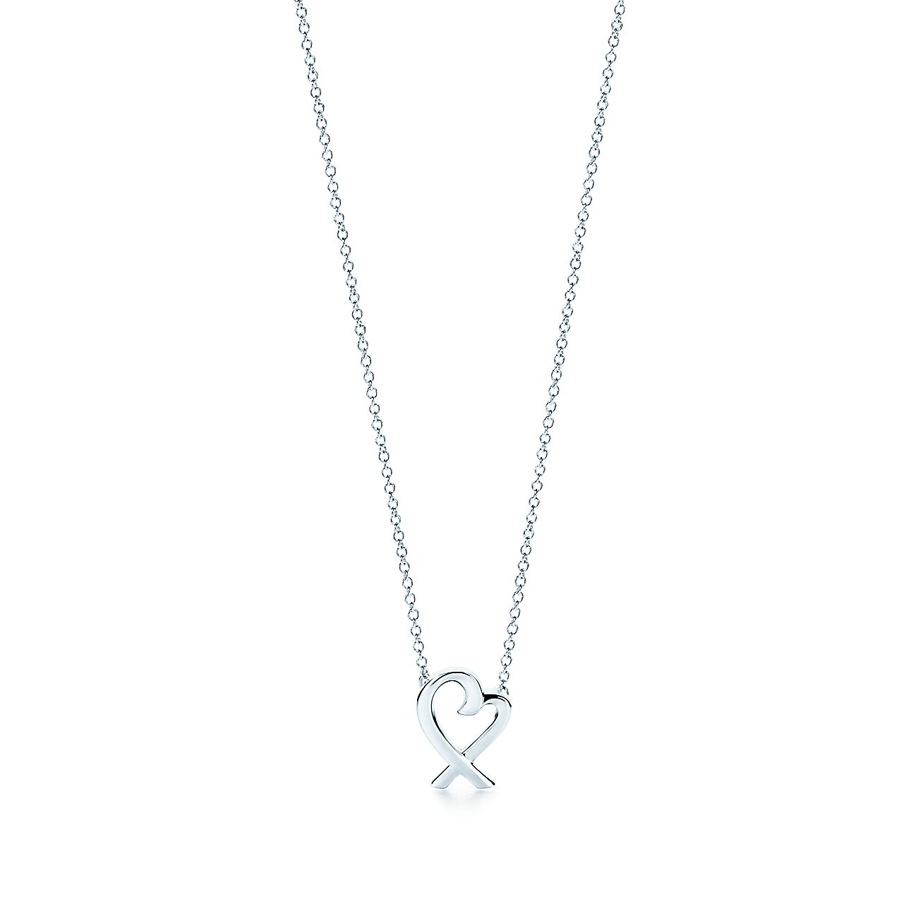 Paloma picasso loving heart pendant in sterling silver mini paloma picasso loving heart pendant in sterling silver mini tiffany co aloadofball Gallery
