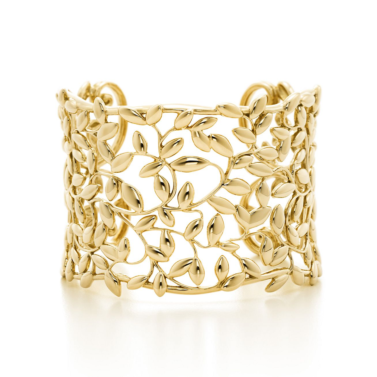 \u039flive is a symbol of peace,protection and fertility Two Real olive leaves gold /& sterling silver 925 \u039fpen cuff bracelet by Mother Nature