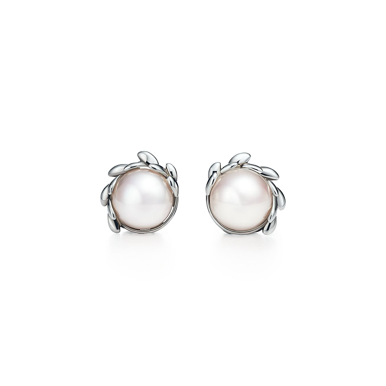 Paloma Picasso®:olive Leaf Pearl Earrings