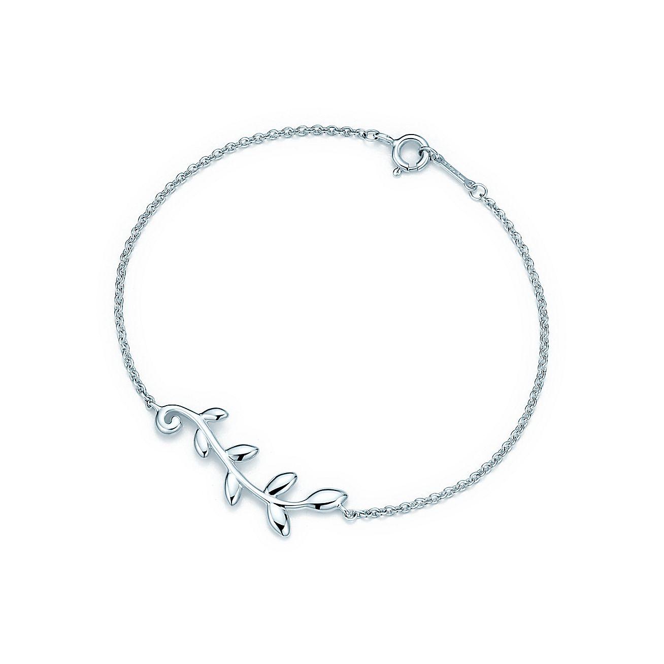 Paloma Pico Olive Leaf Vine Bracelet In Sterling Silver Medium Tiffany Co