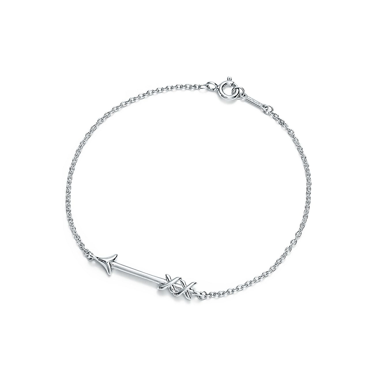 Paloma S Graffiti Arrow Bracelet In Sterling Silver Medium Tiffany Co