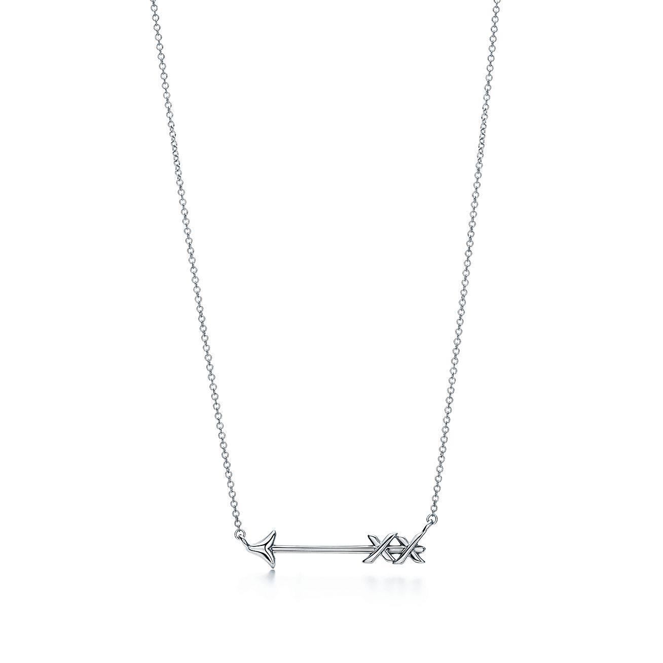 Palomas Graffiti arrow pendant in sterling silver, small Tiffany & Co.