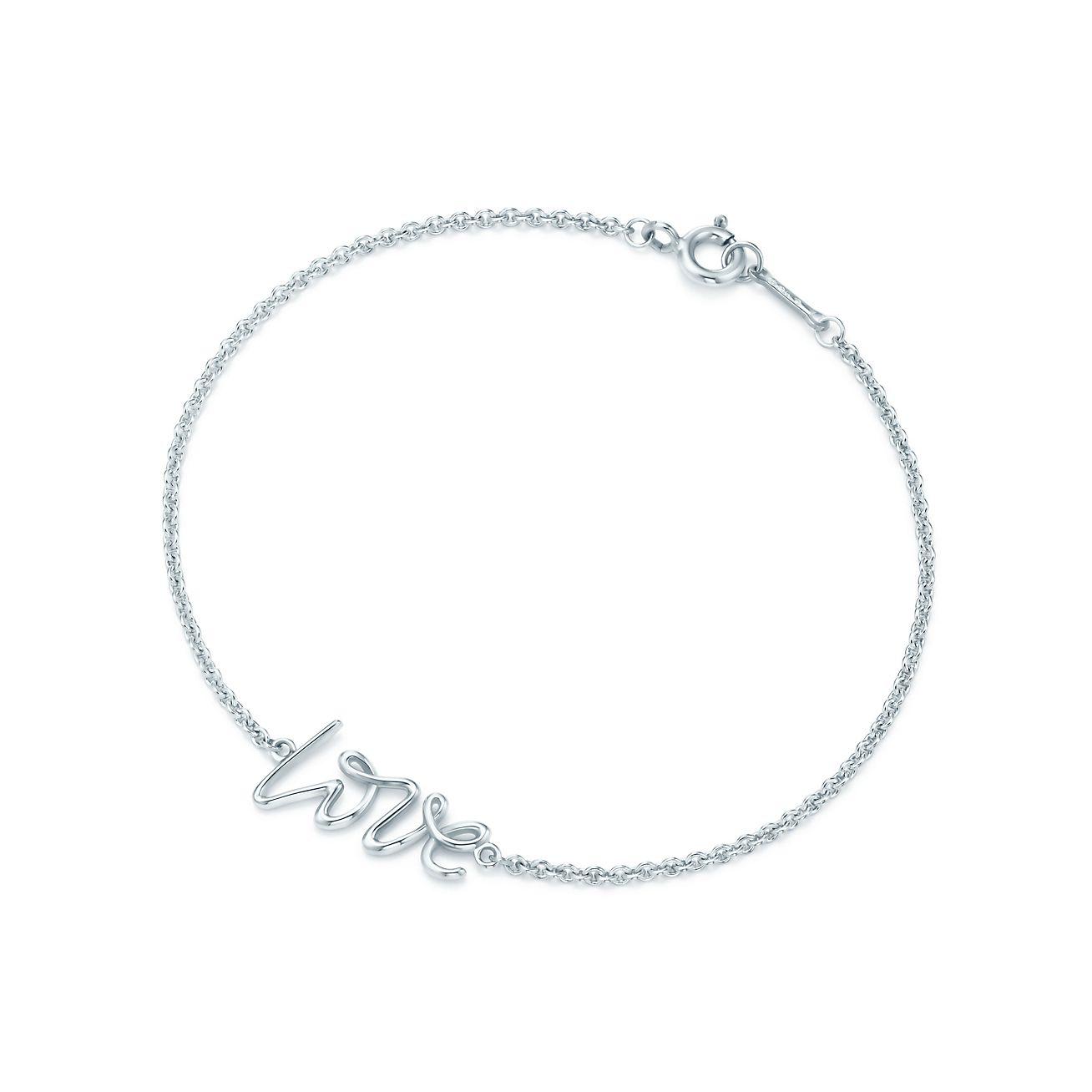 Palomas Graffiti love bracelet in sterling silver, mini Tiffany & Co.