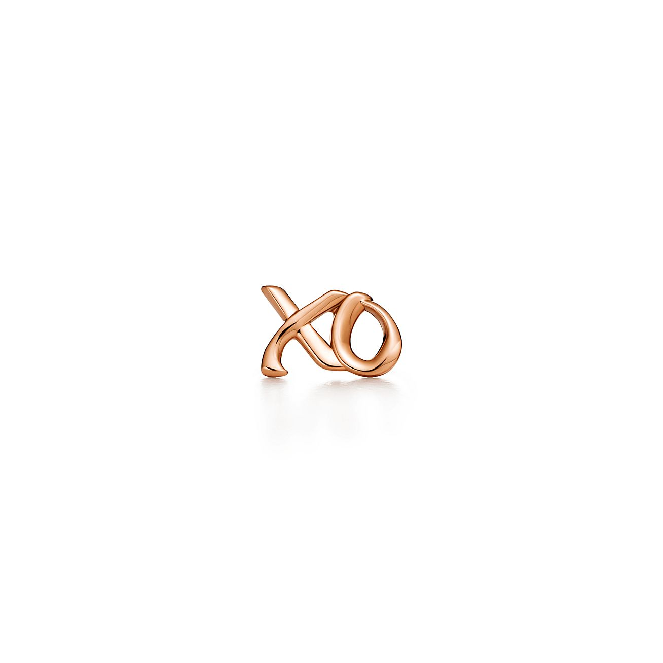 Palomas Graffiti love & kisses single earring in 18k rose gold Tiffany & Co. WGGsCZP