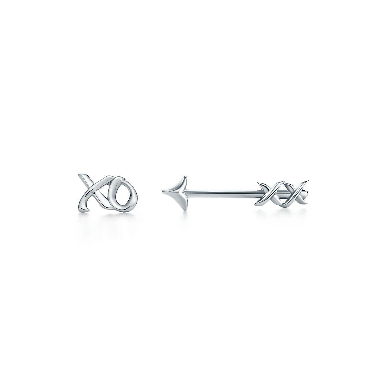 Palomas Graffiti love & kisses single earring in 18k gold Tiffany & Co. JHeZbCIs