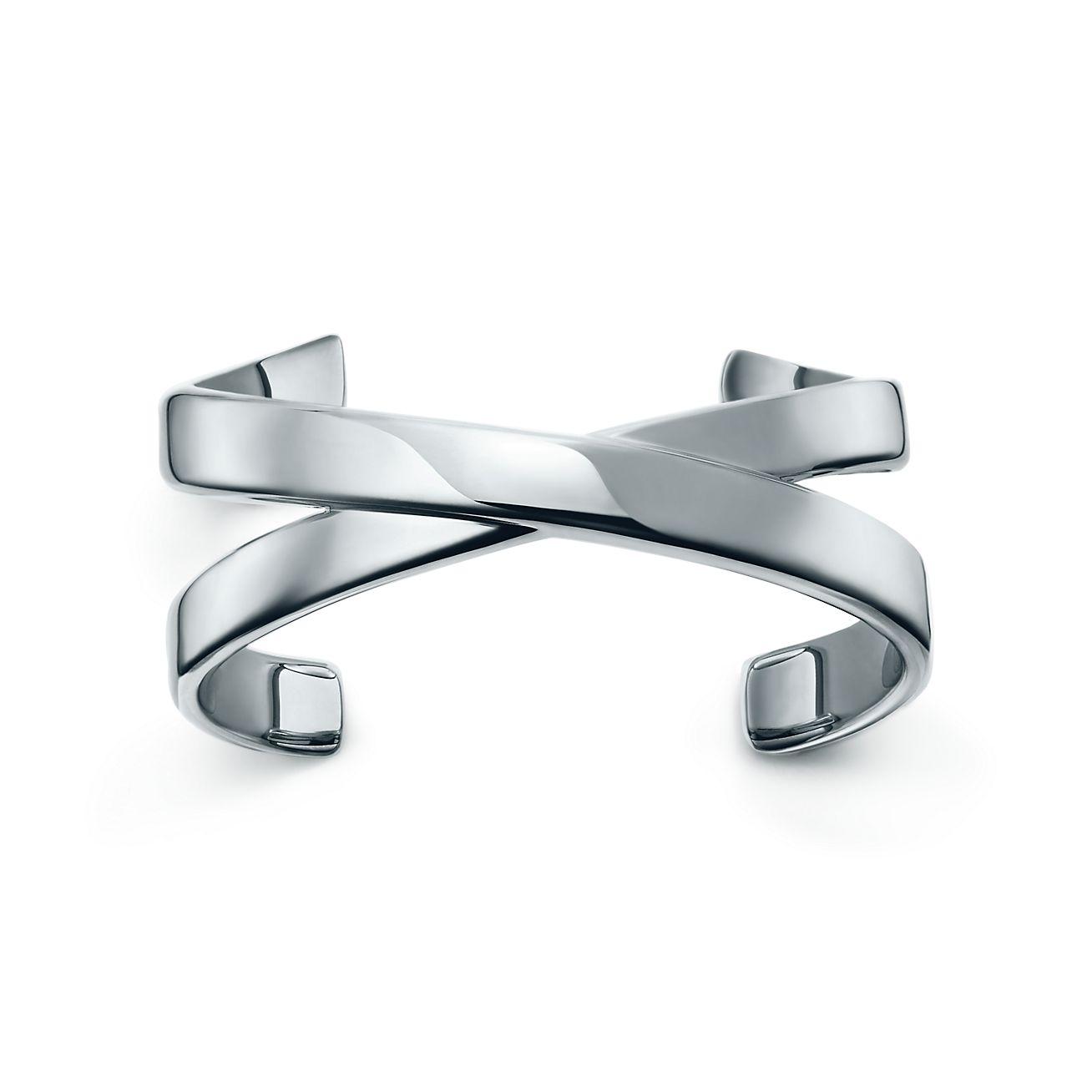 Palomas Graffiti X cuff in sterling silver, medium Tiffany & Co.