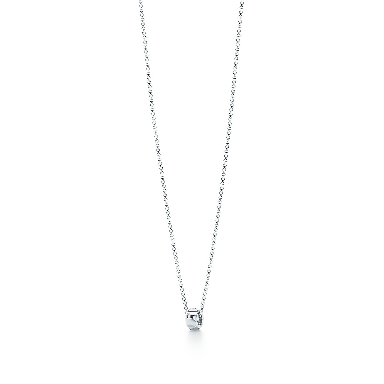 Palomas groove bead pendant in sterling silver tiffany co aloadofball Choice Image