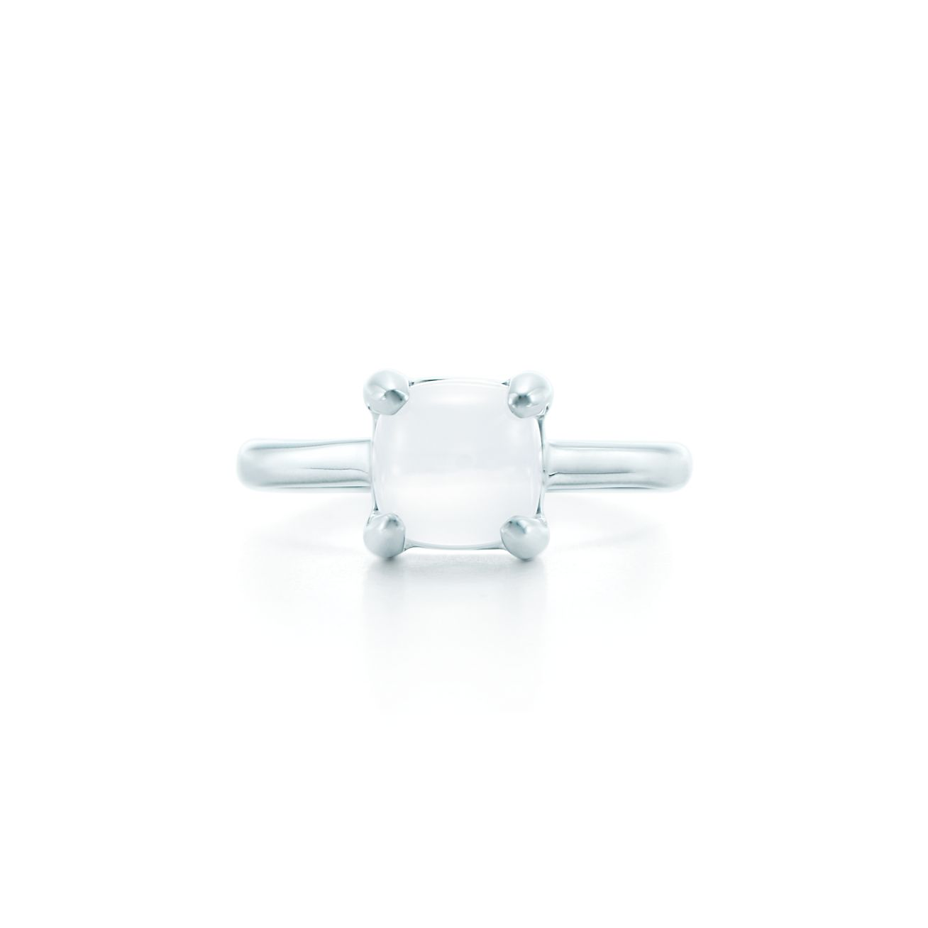 Palomas Sugar Stacks ring in sterling silver with a milky quartz - Size 6 Tiffany & Co. Dbc3q