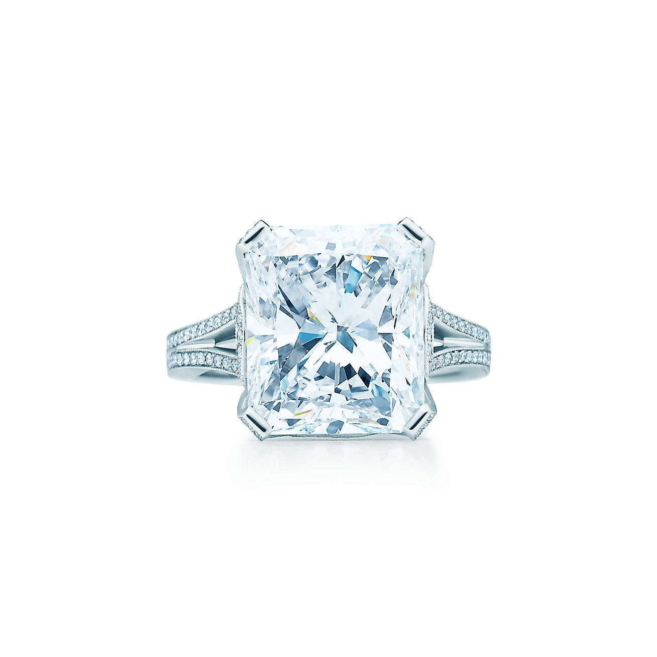 rings ring engagement petra oval mount cut gems semi rectangular setting