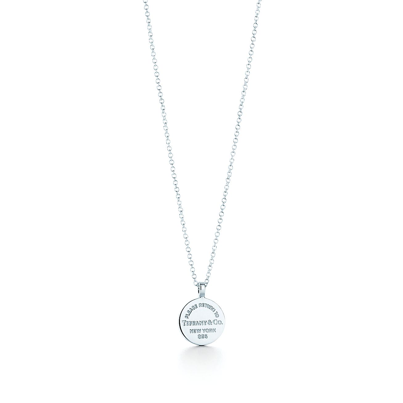 Return to tiffany circle pendant in sterling silver tiffany co aloadofball Image collections