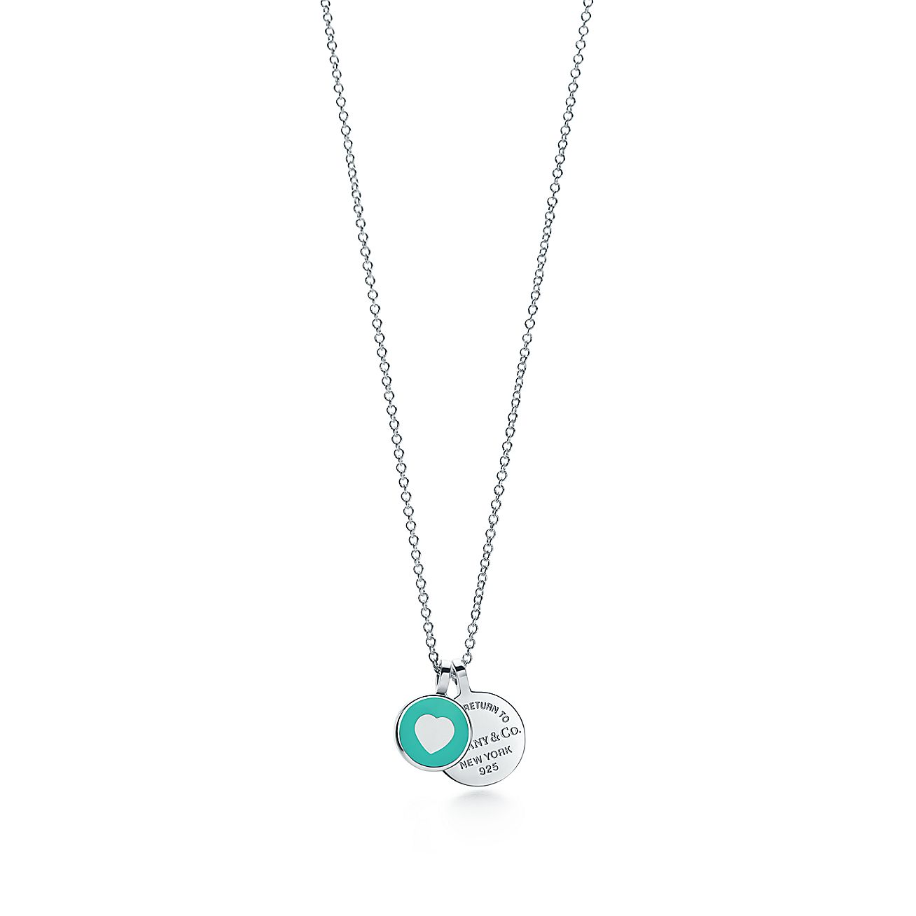 Return to tiffany double round pendant in sterling silver mini return to tiffany double round pendant in sterling silver mini tiffany co aloadofball Gallery